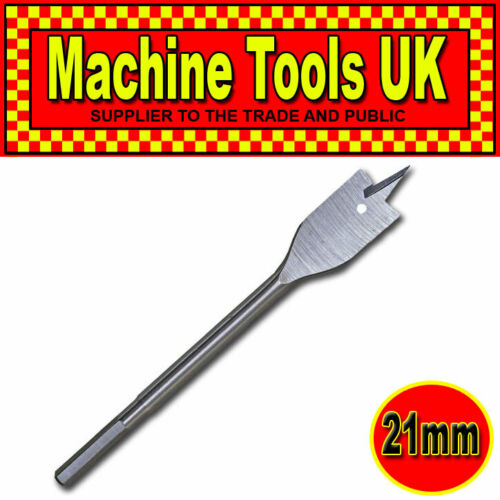 QUALITY DRILL BIT MULTIBUY DISCOUNT 21mm Metric HSS WOOD SPADE FLAT DRILL BITS