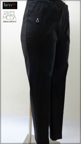 13 Keyra' Pantaloni Donna 33 Over Pants Woman Mujer Pantalones Bryuk 1300330114 Assicurare Anni Di Servizio Senza Problemi
