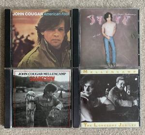 JOHN MELLENCAMP COUGAR 13 CD LOT UH-HUH AMERICAN FOOL