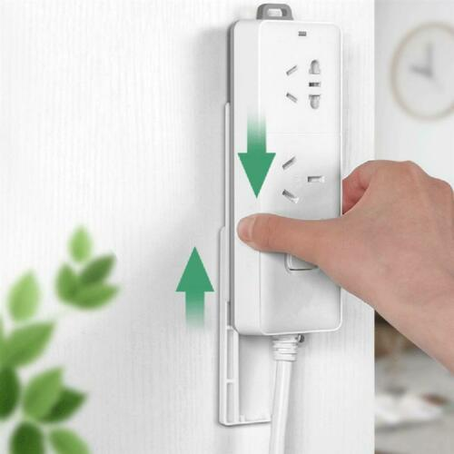 6PCS Wall Hanging Patch Panel Wall Storage Plug Extension Socket Holder HOT