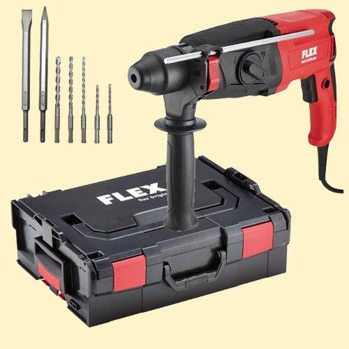 Flex Universal Bohrhammer CHE 2-28 Aktion mit SPD-Plus u. L-Boxx 409812