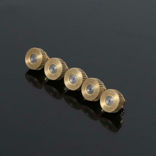 0.4 mm 10//24 UNC Garden 20pcs Brass Misting Nozzles for Cooling System