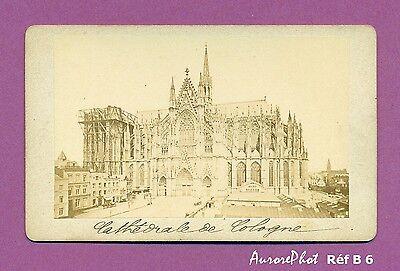 Cdv Allemagne Cologne La Cathedrale ( Münster ) Réf B6