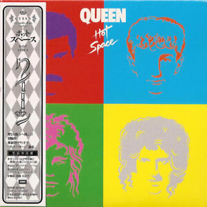 QUEEN-CD-HOT-SPACE-MINI-LP-CD-JAPAN
