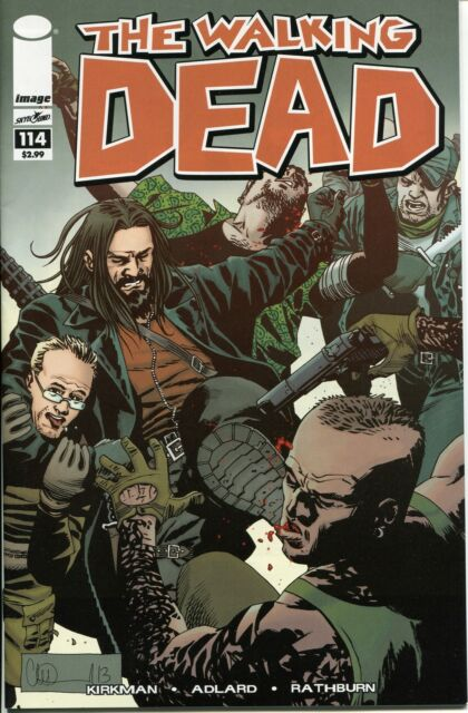 The Walking Dead #114 (2013, Image) First Printing