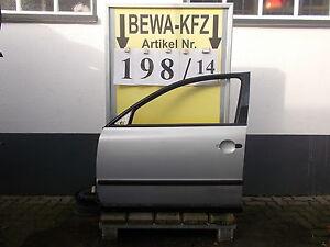 Blechteile-Tuer-vorne-links-VW-Passat-3B5-Kombi-Bj-2000-Nr-B-198-14