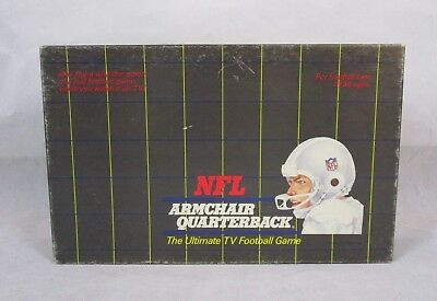 Vintage NFL Armchair Quarterback Ultimate TV Football Game ...