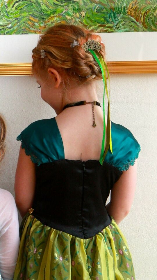 Udklædningstøj, Anna kjole (NY), Frost