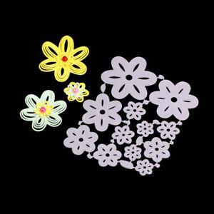 Stanzschablone-Blume-Hochzeit-Weihnachten-Geburtstag-Oster-Karte-Album-Deko-DIY