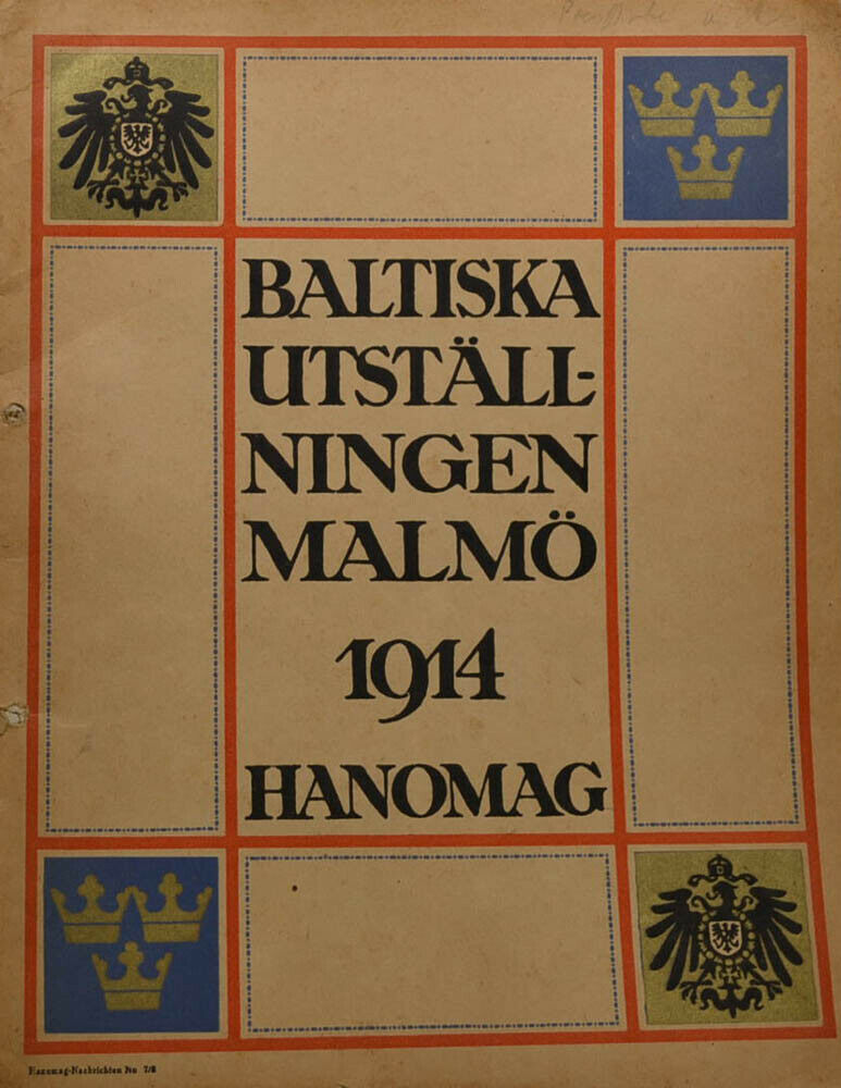 Hanomag ever news June 1914-approx 40 pages (kb835)