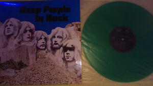 Deep Purple In Rock green Vinyl - Mülheim, Deutschland - Deep Purple In Rock green Vinyl - Mülheim, Deutschland