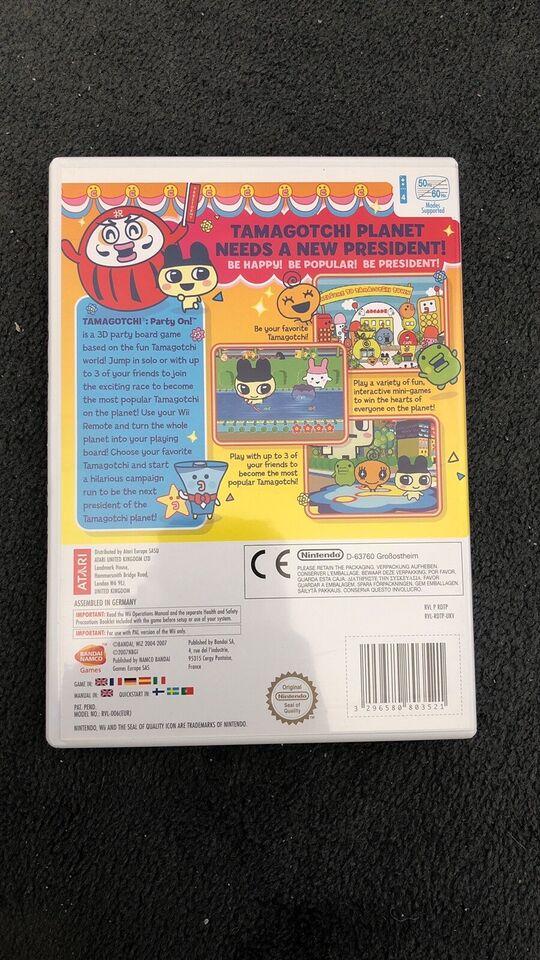 Tamagotchi party on, Nintendo Wii