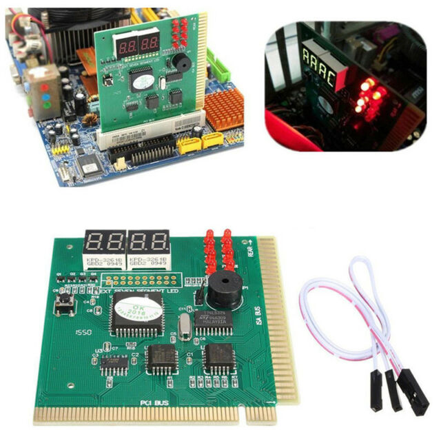 4-Digit Card PC Analyzer Diagnostic Motherboard POST Tester Computer PC PCI G9A