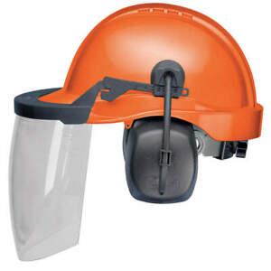 ELVEX-CU-30L-Loggers-Helmet-Type-1-Class-E-Orange