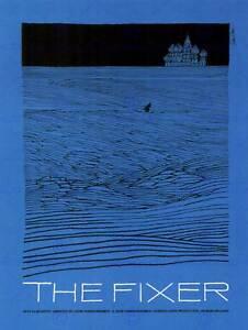 ADVERT-CULTURAL-MOVIE-FILM-FIXER-FRANKENHEIMER-USA-POSTER-ART-PRINT-BB2206B