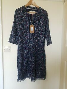 Vestido-de-encaje-Brakeburn-Ditsy-Floral-en-el-dobladillo-Talla-16