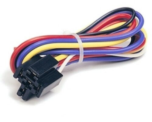 "PRE-WIRED RELAY SOCKET 12V DC AUTO WITH 17/"" LEAD WIRES # BRS-007 1 PC CES"