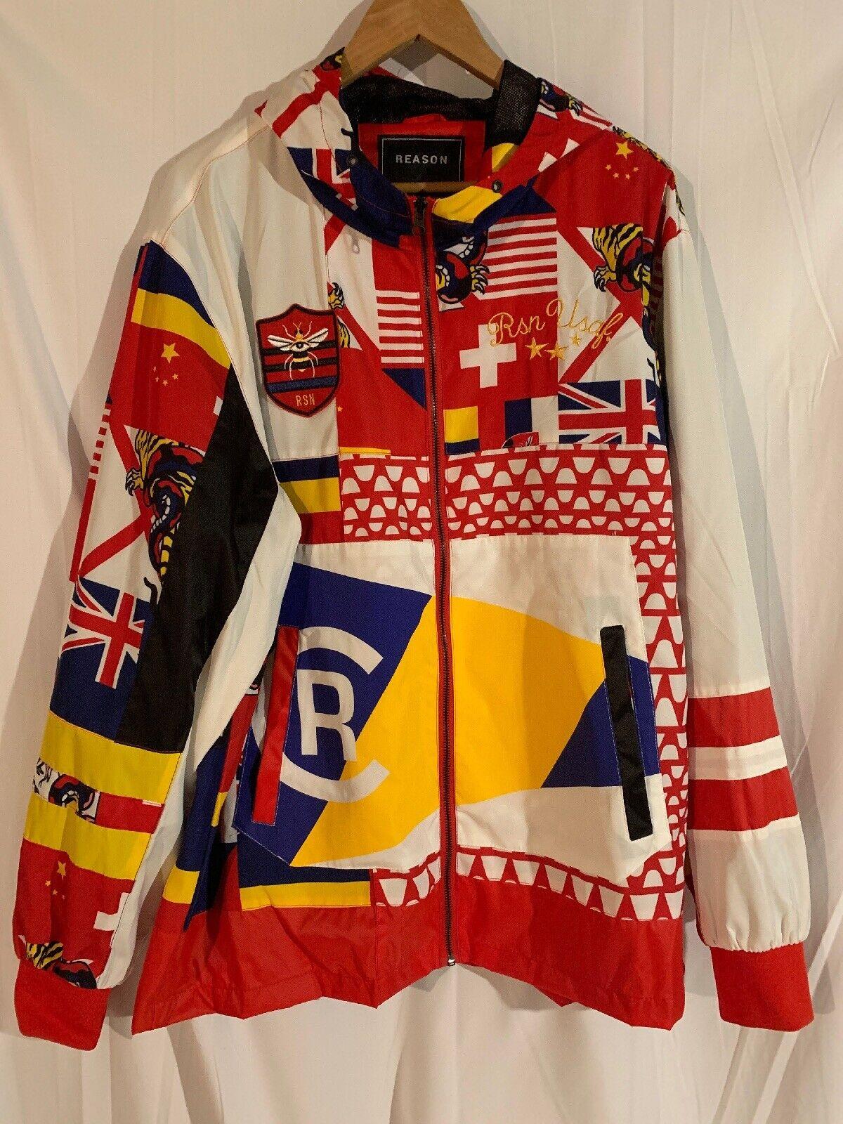 Grund NWOT Mens Größe XL Wasser-Resistant Wasser-Resistant Wasser-Resistant Zip Up Windbreaker Anorak Jacket ceb