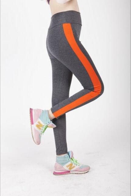 New Women Fitness Leggings YOGA Sport High Waist Running Casual Soft Pants S-XL