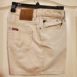 Polo Para Mujer Sz 6 Por Ralph Lauren 5 Sabado Pantalones Cortos De Color Caqui 100 Algodon Ebay