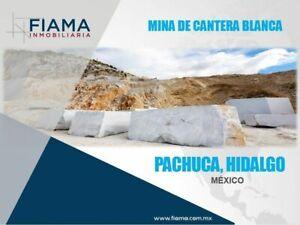MINA DE CANTERA BLANCA, PACHUCA HIDALGO, MÉXICO