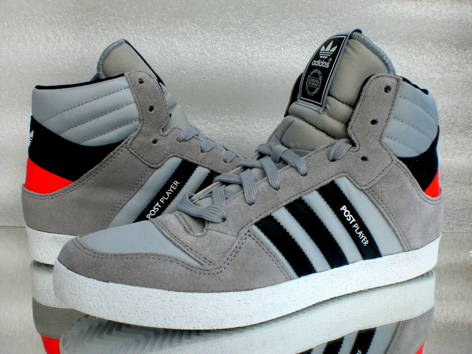 Adidas Originals POST PLAYER VULC Neu TurnschuheSneaker Leder/Textil grau G95186 Neu VULC 21c851