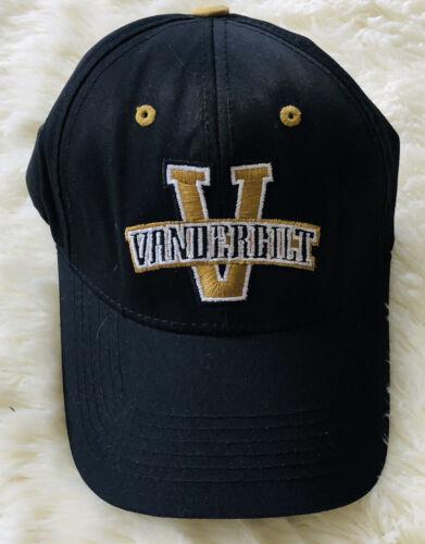 NCAA VANDERBILT UNIVERSITY COMMODORES LOGO BLACK H