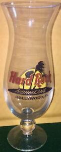 Hard-Rock-Cafe-HOLLYWOOD-FL-Hurricane-Glass-w-Classic-HRC-Logo-Palm-Trees-9-3-8-034