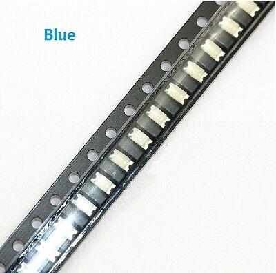 100 pcs SMD SMT 1206 Super bright BLUE LED lamp Bulb GOOD QUALITY