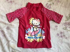 TCM Hello Kitty Mädchen Shirt Stretch Gr.92 3 Years girls t-shirt short sleeve