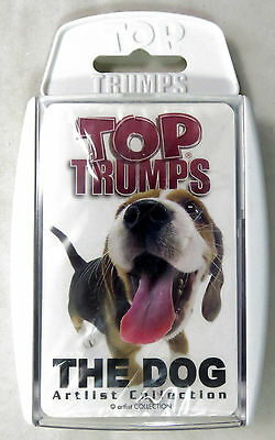 The Dog Artlist Collection Top Trumps