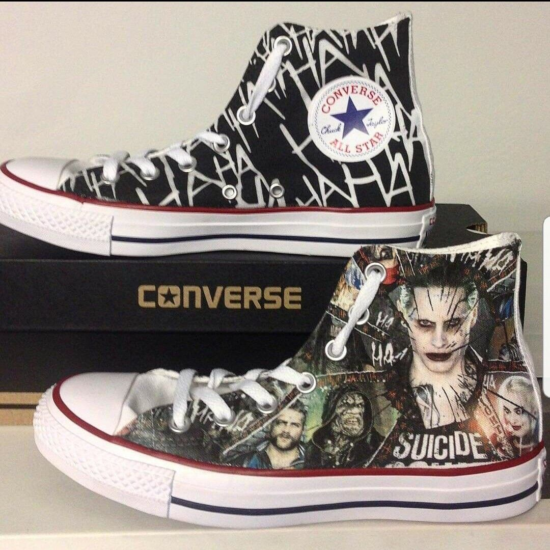 Converse all Star Printed at the Sides