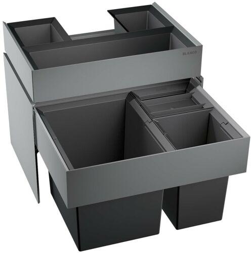 BLANCO SELECT XL 60//3 Orga Einbau Abfallsammler 1x30 2x8 Liter 520782
