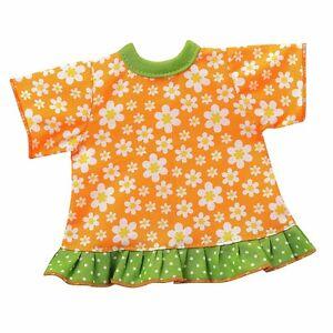 Testa girevole bambole VESTITI BAMBOLE ABITO Hängerchen arancione per 30-33 CM BAMBOLE
