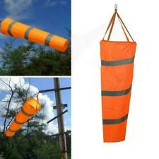 "Airport Windsock 30/"" Long Outdoor Wind SOCK w// Reflective G5J0 Belts Gro Ou Y9J7"