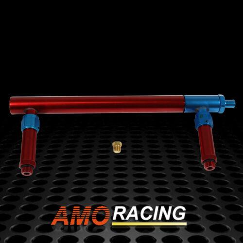 New 9//16-24 Anodized Aluminum Carburetor Fuel Inlet Log For Barry Grant BG