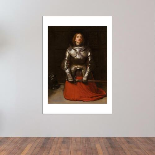John Everett Millais Joan of Arc Wall Art Poster Print