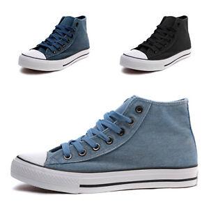 Dettagli su scarpe UOMO sneakers alte sportive ginnastica tela tempo libero running Z 3087