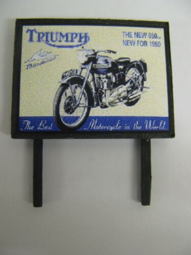 Triumph Thunderbird N /& OO Gauge Model Railway Billboard