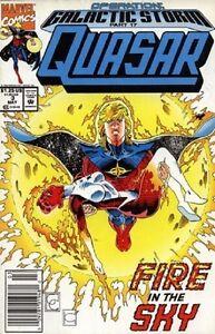 Quasar, The Cosmic Avenger - Marvel Comics - Lot of 3 (11 ...