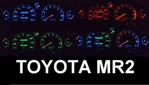 Toyota-MR2-Gen-1-W10-and-Gen-2-W20-LED-speedometer-conversion-kit