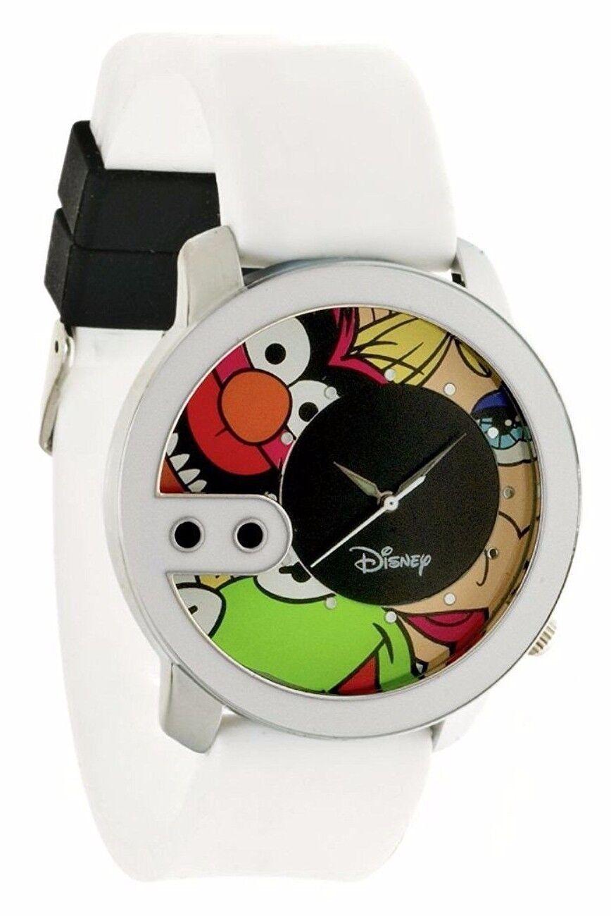 Offiziell Lizenziert Disney Flud Muppets Weiß Rex Armbanduhr