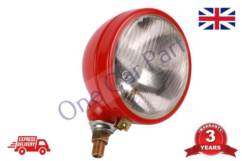 Massey Ferguson Headlight Lamp Light 35 65 765 David Brown Tractor 990 MF RED