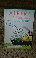1961 Albert The Albatross Syd Hoff Early I Can Read Weekly Reader HC BOOK