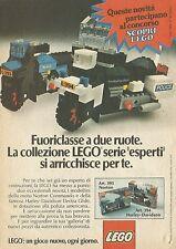 X4594 Harley Davidson LEGO - Pubblicità 1976 - Advertising