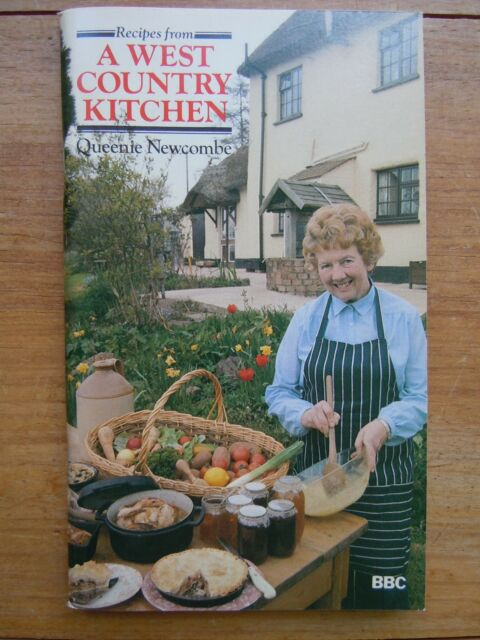 RECIPES FROM A WEST COUNTRY KITCHEN, QUEENIE NEWCOMBE, ISBN 0563178493 1980 VGC