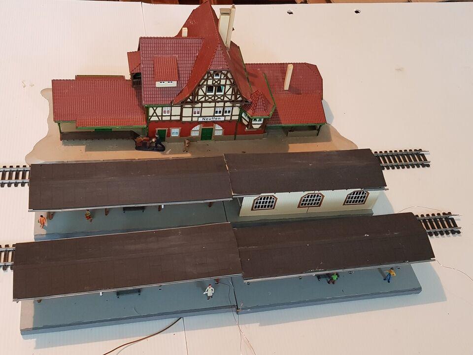 Modelbane, Diverse STATION/PERRONER, skala H0