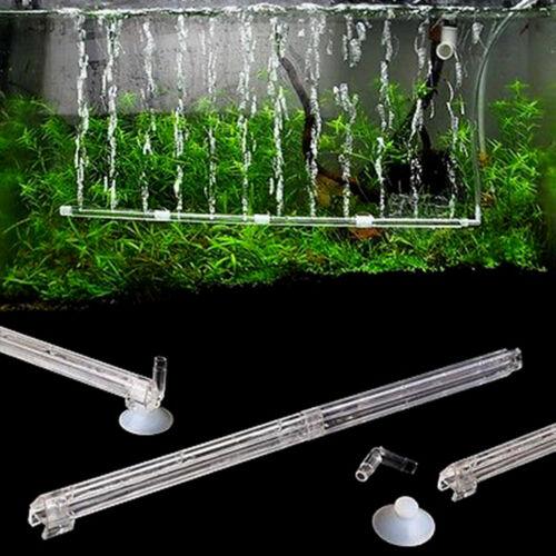 Clear Plastic Air Curtain Diffuser Bar Oxgyen Aerator Aquarium Water TreatmentHF