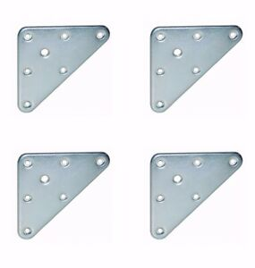 Triangle table furniture leg fixing plates brackets m8 hole steel image is loading triangle table furniture leg fixing plates brackets m8 watchthetrailerfo