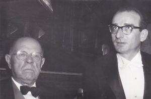 Pablo Casals Cellist Karl Engel Pianist Original Photo At Prades